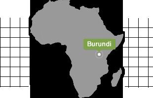 Le Burundi en Afrique